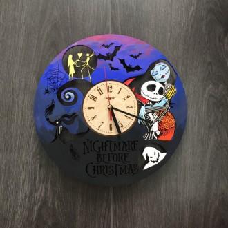 Яркие детские настенные часы с бесшумным кварцевым механизмом выполнены из натур. Киев, Киевская область. фото 6