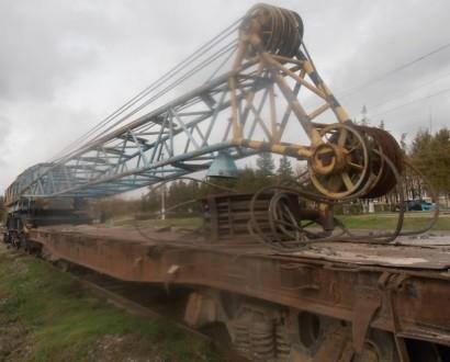 Продаем железнодорожный кран EDK 300/2 Takraf, 60 тонн, 1989 г.п.. Киев. фото 1