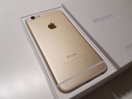 IPhone 6 16 gb gold. Вышгород. фото 1