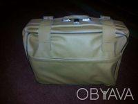 чемодан-гармошка натуральная кожа. Днепр. фото 1