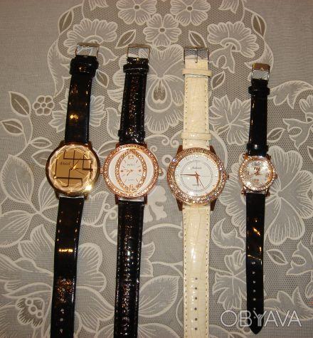 Продам новые женские наручные часы Made in China. Очень красивые, нарядные. Точн. Днепр, Днепропетровская область. фото 1
