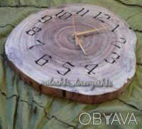 часы настенные, из дерева ツ WOODWORK ツ. Дніпро. фото 1