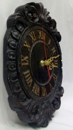 Продам Часы из массива дерева размеры 270х180х28. Измаил, Одесская область. фото 5