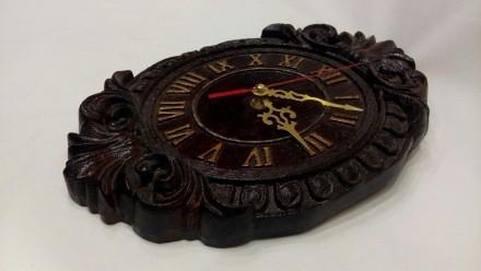Продам Часы из массива дерева размеры 270х180х28. Измаил, Одесская область. фото 3
