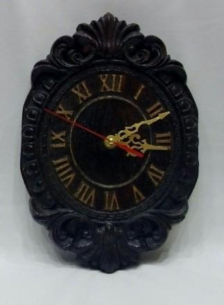 Продам Часы из массива дерева размеры 270х180х28. Измаил, Одесская область. фото 4