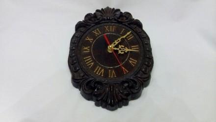 Продам Часы из массива дерева размеры 270х180х28. Измаил, Одесская область. фото 2