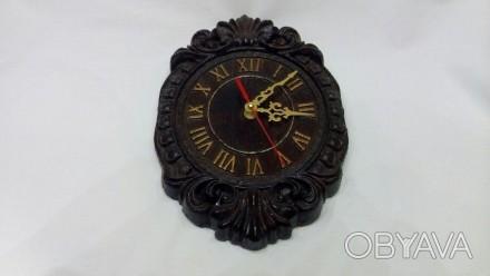 Продам Часы из массива дерева размеры 270х180х28. Измаил, Одесская область. фото 1