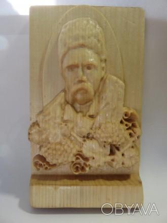 Продам портрет Т. Г. Шевченко | Резьба по дереву