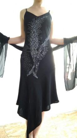Женское платье асимметрия. Светловодск. фото 1