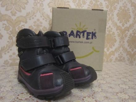 Зимнии ботинки Bartek 24 р.. Киев. фото 1