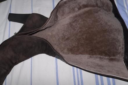 Продам женские, фирменные итальянские сапоги, очень теплые.. Состояние - практич. Херсон, Херсонская область. фото 4