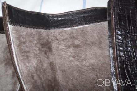 Продам женские, фирменные итальянские сапоги, очень теплые.. Состояние - практич. Херсон, Херсонская область. фото 1