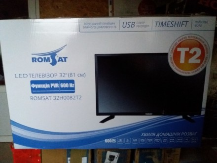 Продам LED телевизор Romsat 32'' 32H0082T2. Кропивницкий. фото 1