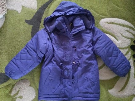 Куртка зимняя на девочку. Миколаїв. фото 1