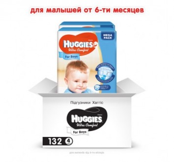 Подгузники Huggies Ultra Comfort (в ассортименте). Киев. фото 1