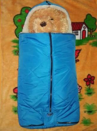 Продам фирменный зимний конверт на овчине Boys & Girls, производитель Польша Ко. Чернигов, Черниговская область. фото 4
