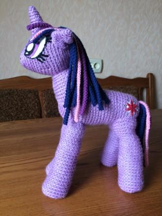 My Little Pony, вязаная пони Твайлайт. Николаев. фото 1