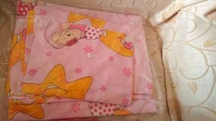 Набор (комплект)  постельного белья в детскую кроватку. Светловодск. фото 1