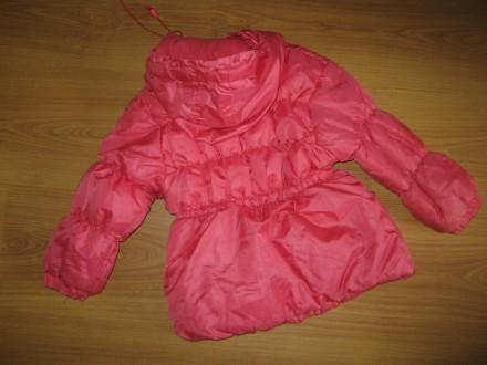 Класна курточка!!! 2-3 р. 92-98 см весна-осінь фліс+синтепон довж.-43 см по. Бурштын, Ивано-Франковская область. фото 4