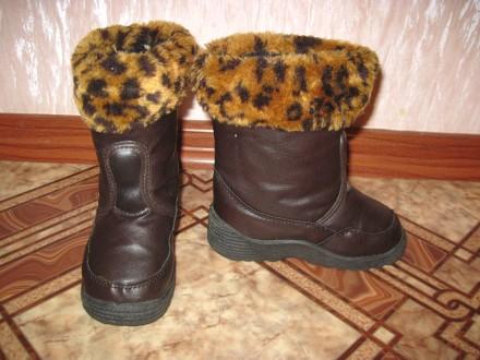 Зимнее сапоги р.25,  стелька - 15,5 см.. Суми. фото 1