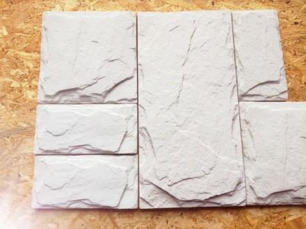 Облицовочный камень «Сланец» Бьянко. Сумы. фото 1