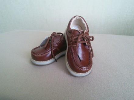 Туфли - ботинки, кожа, раз.23-24,27(14,0-14,5 см.,16,4 см.). Сумы. фото 1