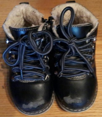 Ботинки детские на овчине. Ужгород. фото 1