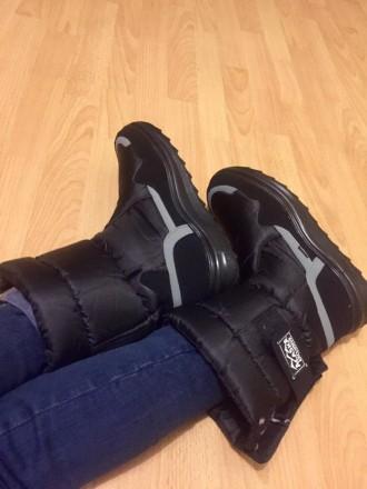Мужские дутики Аляска черные - отличный выбор обуви для холодной поры года. Эта . Киев, Киевская область. фото 4