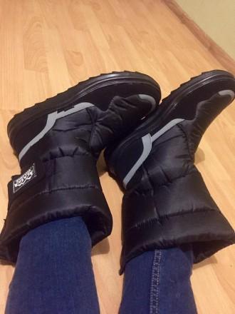 Мужские дутики Аляска черные - отличный выбор обуви для холодной поры года. Эта . Киев, Киевская область. фото 2