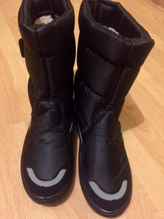 Мужские дутики Аляска черные - отличный выбор обуви для холодной поры года. Эта . Киев, Киевская область. фото 5