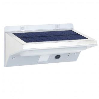 Вуличний всепогодний садовий ліхтар на соняшній батареї з датчиком руху. Червоноград. фото 1