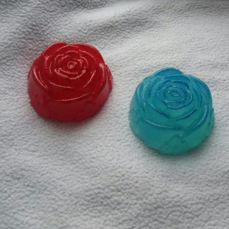 Мыло,,Сверкающая роза'' ручной работы. Днепр. фото 1