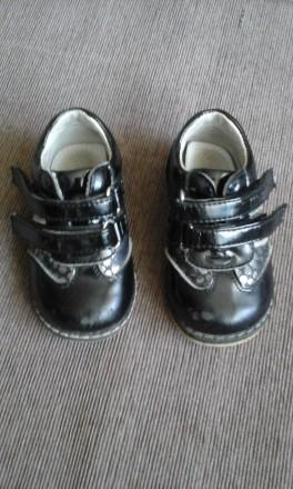 Туфельки ботиночки нарядные шалунишка ортопед 20 р.. Киев. фото 1