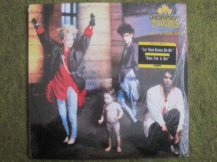 THOMPSON TWINS  Here's To Future Days     LP 12
