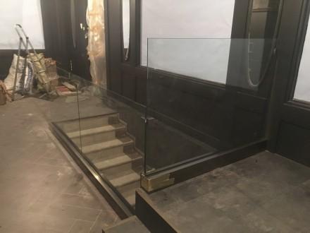 Ограждение из стекла. Одесса. фото 1
