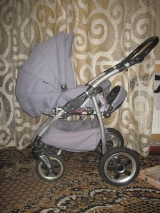 Продам дитячу коляску Тако Нікс (колір-сірий). В комплект входить зйомна люлка д. Репки, Черниговская область. фото 4