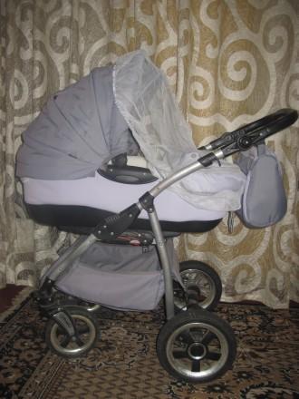 Продам дитячу коляску Тако Нікс (колір-сірий). В комплект входить зйомна люлка д. Репки, Черниговская область. фото 3