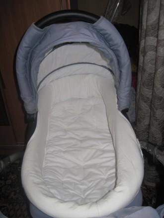 Продам дитячу коляску Тако Нікс (колір-сірий). В комплект входить зйомна люлка д. Репки, Черниговская область. фото 5