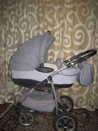 Продам дитячу коляску Тако Нікс (колір-сірий). В комплект входить зйомна люлка д. Репки, Черниговская область. фото 2