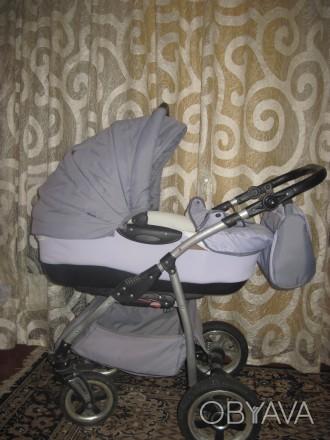 Продам дитячу коляску Тако Нікс (колір-сірий). В комплект входить зйомна люлка д. Репки, Черниговская область. фото 1