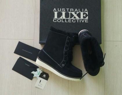 Продам новые ботинки Australia Luxe Collective. Материал натуральная замша и нат. Киев, Киевская область. фото 2
