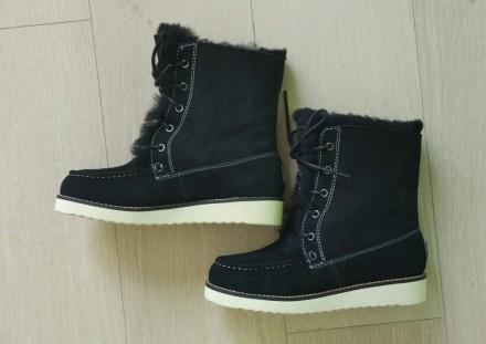 Продам новые ботинки Australia Luxe Collective. Материал натуральная замша и нат. Киев, Киевская область. фото 4