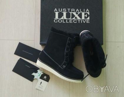 Продам новые ботинки Australia Luxe Collective. Материал натуральная замша и нат. Киев, Киевская область. фото 1