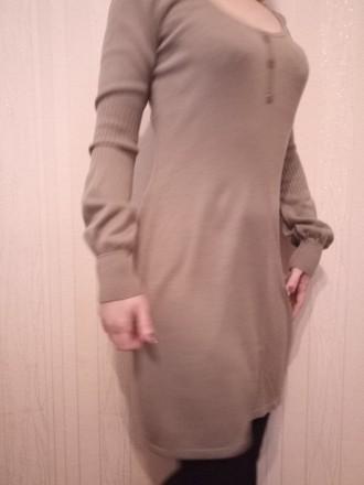 сукня в гарному стані, тепленька, машинна вязка, довжина до коліна, купляла в бо. Луцьк, Волинська область. фото 3
