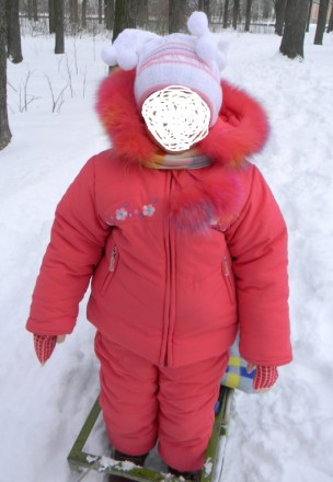 Костюм зимний на девочку 3-4 лет. Николаев. фото 1