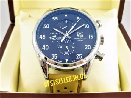 Сделайте себе приятный подарок - швейцарские часы TAG Heuer Carrera SpaceX Silve. Киев, Киевская область. фото 3
