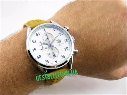 Сделайте себе приятный подарок - швейцарские часы TAG Heuer Carrera SpaceX Silve. Киев, Киевская область. фото 7