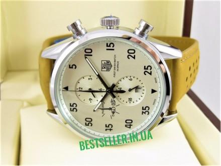 Сделайте себе приятный подарок - швейцарские часы TAG Heuer Carrera SpaceX Silve. Киев, Киевская область. фото 5