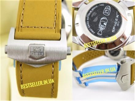 Сделайте себе приятный подарок - швейцарские часы TAG Heuer Carrera SpaceX Silve. Киев, Киевская область. фото 8