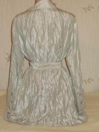 Продам лёгкий летний стильный плащик из жатой ткани размер 46 в идеальном состоя. Чернигов, Черниговская область. фото 5
